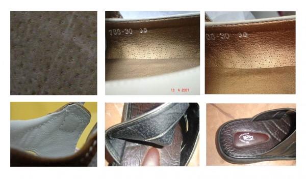 Sepatu dan Tas dari Kulit Babi
