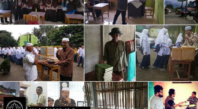 Penutupan Program Wakaf 1000 Al Quran tahun 2018
